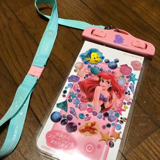 ディズニー(Disney)のディズニー アリエル  防水スマホケース(iPhoneケース)
