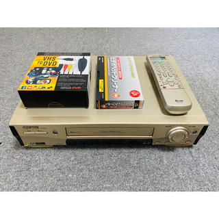 ミツビシ(三菱)の三菱 S-VHS ビデオデッキ HV-BS890 PCキャプチャー セット (その他)