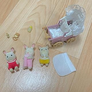 エポック(EPOCH)のシルバニアファミリー  赤ちゃん 乳母車 おもちゃセット(ぬいぐるみ/人形)