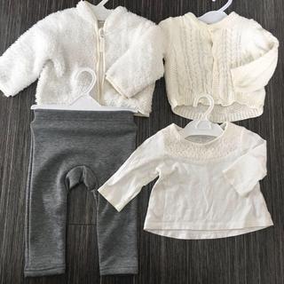 西松屋 - ベビー服☆夏秋生まれの赤ちゃんに☆60-70センチの冬服まとめ売り☆