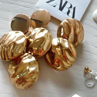 ZARA - ZARA ハンドメイド ボタン ゴールド セット