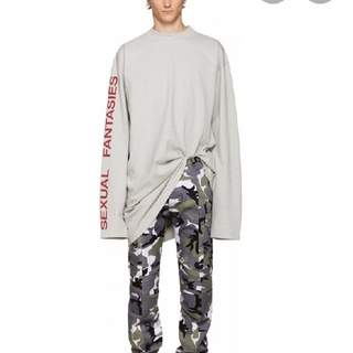 vetements grey sexual fantasies tーshirt(Tシャツ/カットソー(七分/長袖))