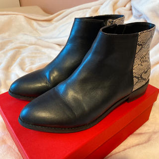 オリエンタルトラフィック(ORiental TRaffic)のオリエンタルトラフィック サイドゴアショートブーツ 24.5cm(ブーツ)