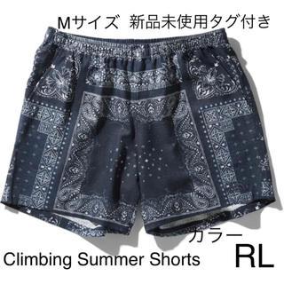 ザノースフェイス(THE NORTH FACE)の【新品未使用】Climbing Summer Shortsバンダナリニューアル(ショートパンツ)