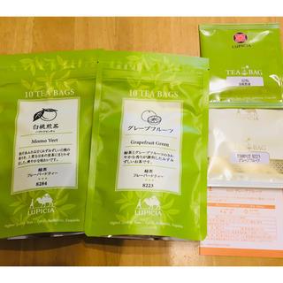 LUPICIA - ルピシア♡白桃煎茶&グレープフルーツ