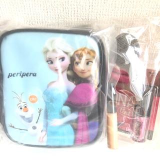 ディズニー(Disney)のアナと雪の女王 ポーチセット ハイジドルフ Kona ティント チェリーピンク(ボトル・ケース・携帯小物)
