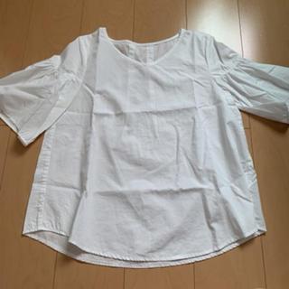 レプシィム(LEPSIM)のLEPSIM ホワイト トップス(シャツ/ブラウス(半袖/袖なし))