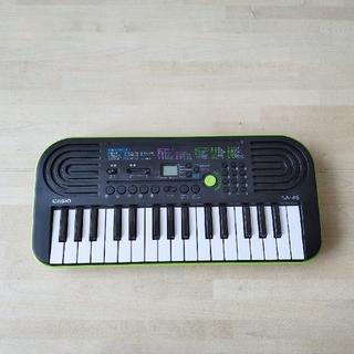 カシオ(CASIO)のカシオ CASIO SA-46 [ミニキーボード 32鍵](電子ピアノ)