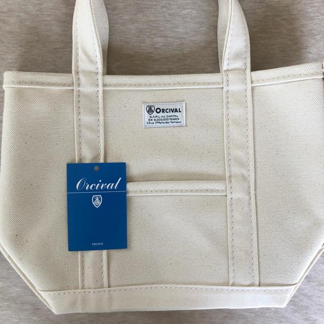 DANTON(ダントン)のORCIVAL オーチバル オーシバル キャンバス トートバッグ S  エクリュ レディースのバッグ(トートバッグ)の商品写真