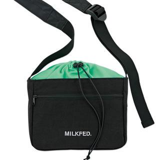 ミルクフェド(MILKFED.)の【mini 20年3月号付録】MILKFED. 外ポケット付ショルダーバッグH(ショルダーバッグ)