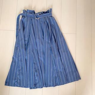 アールディールージュディアマン(RD Rouge Diamant)のストライプスカート(ひざ丈スカート)