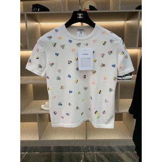 CHANEL - CHANEL Tシャツ ニット ホワイト