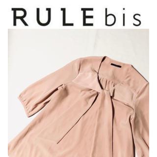 ディノス(dinos)の(115)RULE ルール リボンタイ ドレープ ブラウス(dinos)(シャツ/ブラウス(半袖/袖なし))