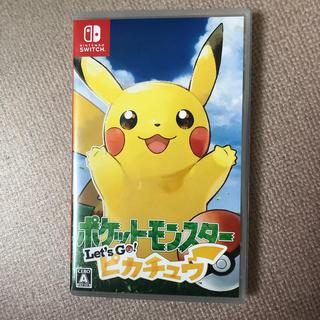 任天堂 - 「ポケットモンスター Let's Go! ピカチュウ Switch」