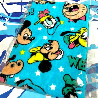 ディズニー(Disney)の新品❤ディズニー/総柄フェイスタオル❤レトロ/ノスタルジカ/TDS/TDR(キャラクターグッズ)
