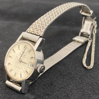 オメガ(OMEGA)の稼働品【OMEGA】デイト シルバー文字盤 オートマ アンティーク(腕時計)