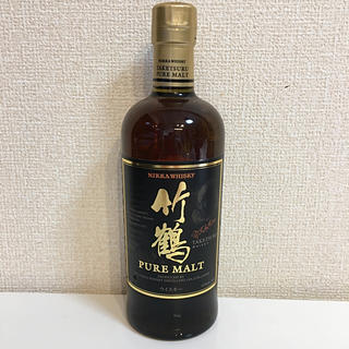 ニッカウイスキー(ニッカウヰスキー)の終売品 竹鶴ピュアモルト 700ml ニッカウヰスキー 新品(ウイスキー)