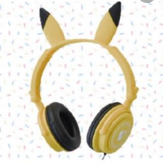 ポケモン(ポケモン)のポケットモンスター♡ピカチュウ♡プレミアム耳付きヘッドホン (ヘッドフォン/イヤフォン)