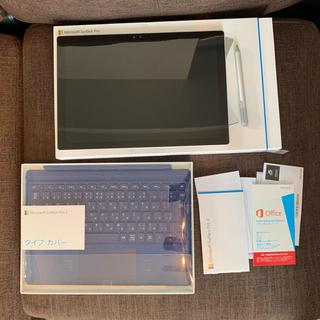 マイクロソフト(Microsoft)のMicrosoft  Surface Pro 4  CR3-00014(タブレット)