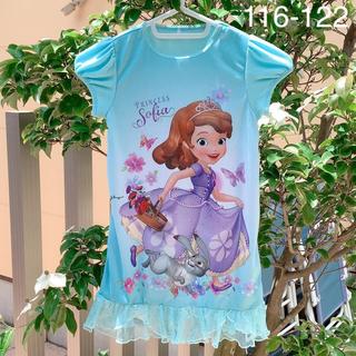Disney - ディズニープリンセスワンピース6-7歳キッズ服身長116-122cm海外子供服