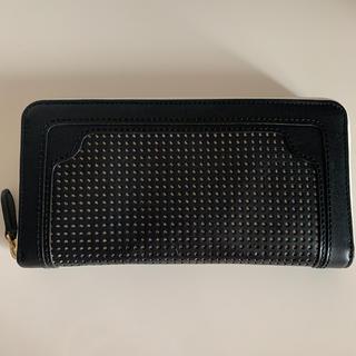 アッシュペーフランス(H.P.FRANCE)の長財布 ブラック 黒(財布)