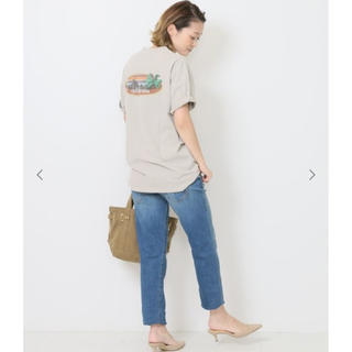 DEUXIEME CLASSE - Deuxieme Classe  バックプリントTシャツ