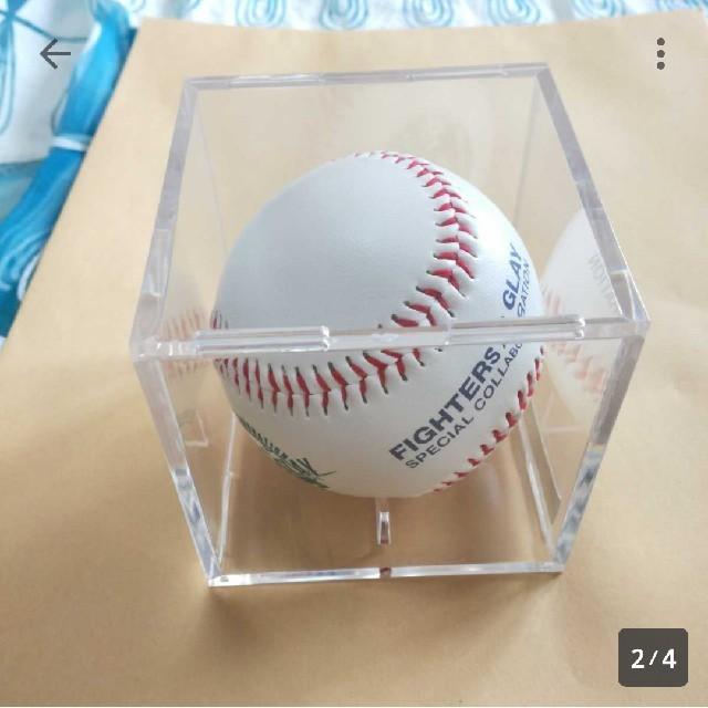 GLAY ボール 北海道日本ハムファイターズ コラボ 記念ボール スポーツ/アウトドアの野球(記念品/関連グッズ)の商品写真