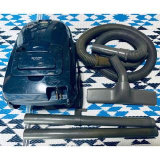 シャープ(SHARP)のシャープ 床移動形電気掃除機 EC-W1F 1997年1~6月期製(掃除機)