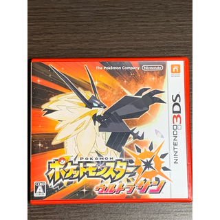 ポケモン(ポケモン)のポケットモンスター ウルトラサン 3DS(携帯用ゲームソフト)