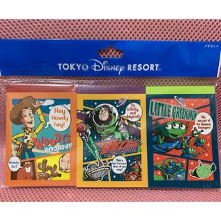 Disney - ディズニー トイストーリー メモセット