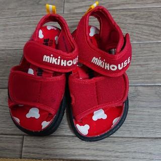 ミキハウス(mikihouse)のMIKI HOUSE  ベビーサンダル 13.0(サンダル)