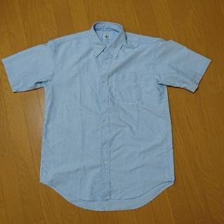 アイトス(AITOZ)のAITOZ 襟つき半袖シャツ サックス(シャツ)