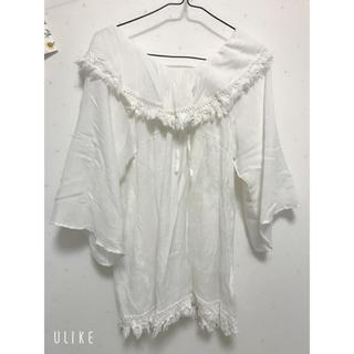 ミスティック(mystic)のトップス(Tシャツ(長袖/七分))