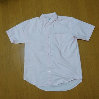 アイトス(AITOZ)のAITOZ 襟つき半袖シャツ ピンク(シャツ)