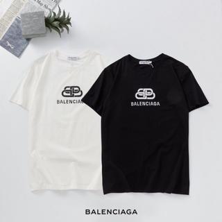 Balenciaga - 【2枚7000円送料込み】BALENCIAGA ロゴ プリント Tシャツ