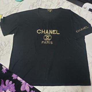 CHANEL - CHANEL 黒金Tシャツ Tシャツ