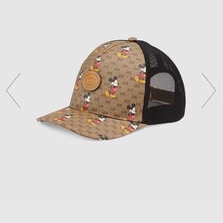グッチ(Gucci)のGUCCIミッキーコラボ帽子(キャップ)