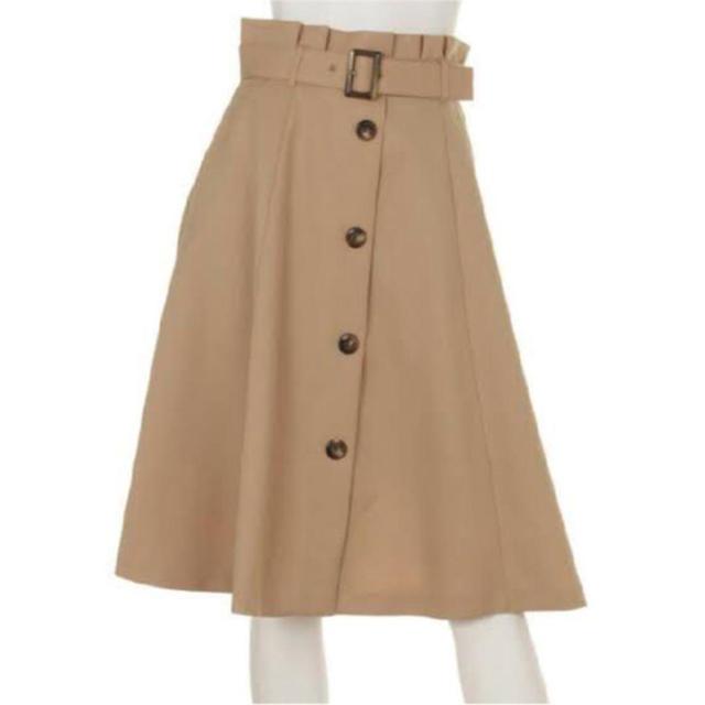 Rirandture(リランドチュール)のリランドチュール トレンチ フロント釦スカート レディースのスカート(ひざ丈スカート)の商品写真