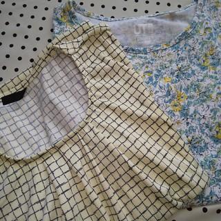トップス2枚(Tシャツ(半袖/袖なし))