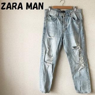 ZARA - 【人気】ZARA MAN/ザラ マン ダメージデニム スリムジーンズ サイズ31