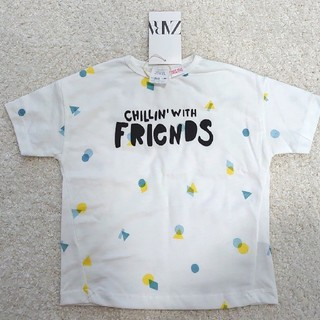 ZARA KIDS - ZARA 半袖 Tシャツ 18-24month 92cm 白