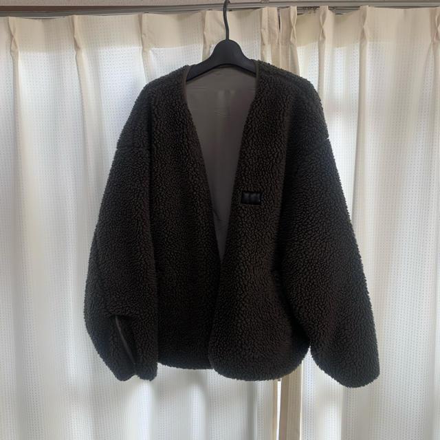 SUNSEA(サンシー)のstein reverse boa jacket シュタイン メンズのジャケット/アウター(ブルゾン)の商品写真