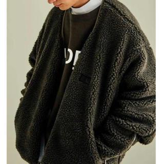 サンシー(SUNSEA)のstein reverse boa jacket シュタイン(ブルゾン)