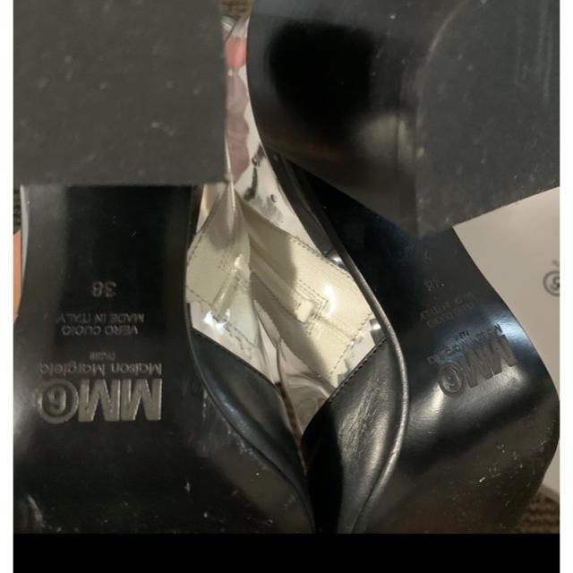 Maison Martin Margiela(マルタンマルジェラ)のレア MM6 Maison Margiela マルジェラ PVC ブーツ 38 レディースの靴/シューズ(ブーツ)の商品写真