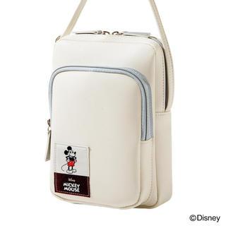Disney - InRed 付録 ♡ ミッキーマウス レザー調ショルダーバッグ