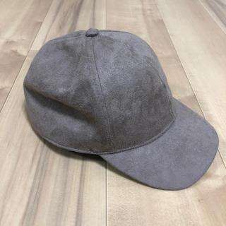 エイチアンドエム(H&M)のH&M スゥエードキャップ★帽子(キャップ)