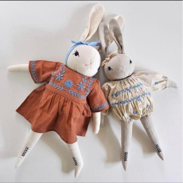 Caramel baby&child (キャラメルベビー&チャイルド)のpolka dot club × apolina コラボ 洋服 セット キッズ/ベビー/マタニティのおもちゃ(ぬいぐるみ/人形)の商品写真