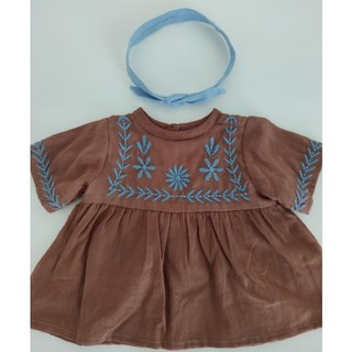 Caramel baby&child  - polka dot club × apolina コラボ 洋服 セット