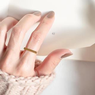 イエナ(IENA)のシルバー925製(18kゴールドコーティング)リング(リング(指輪))