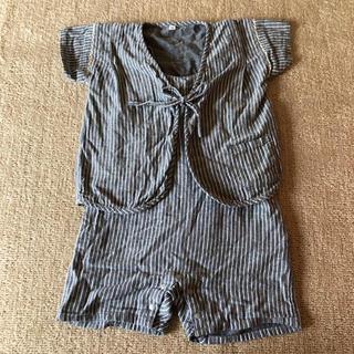ムジルシリョウヒン(MUJI (無印良品))の無印良品 甚平 100(甚平/浴衣)